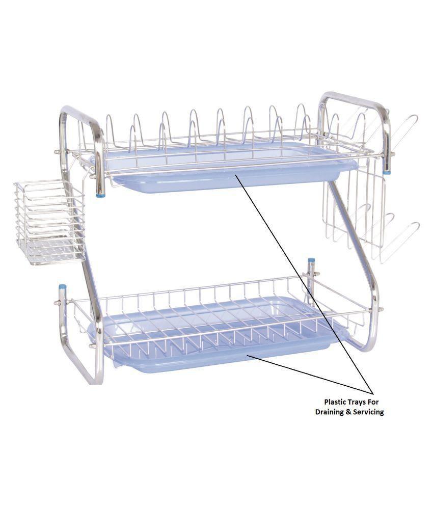 rack simplehuman compact dr white draining uk dishrack smp plastic angle