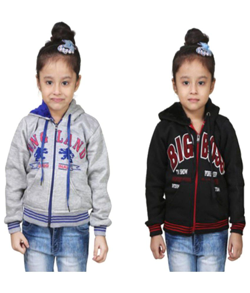 Crazeis Combo Of Girls Sweatshirts