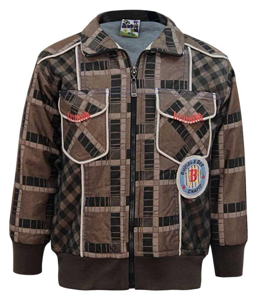Kothari Brown Full Sleeve  Sweatshirt