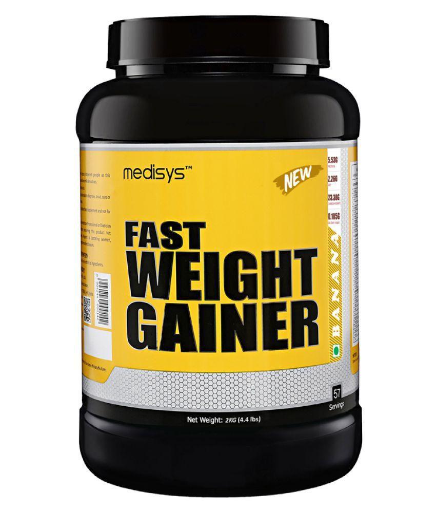 MEDISYS Fast  Weight Gainer 2 kg Weight Gainer Powder