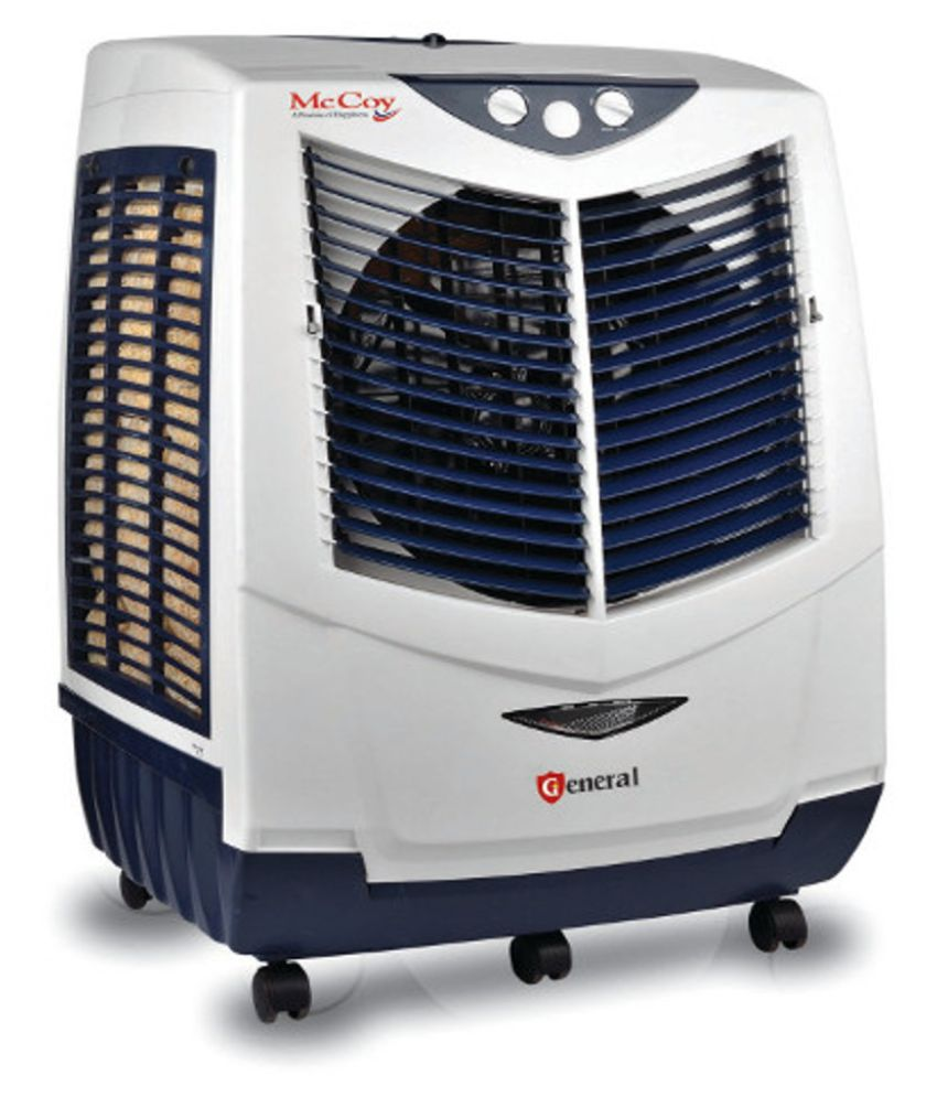 Mccoy Desert White & Blue Air Cooler