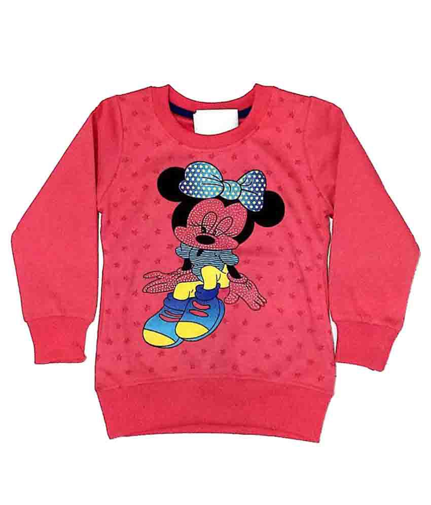 Cuddlezz Red Sweatshirt