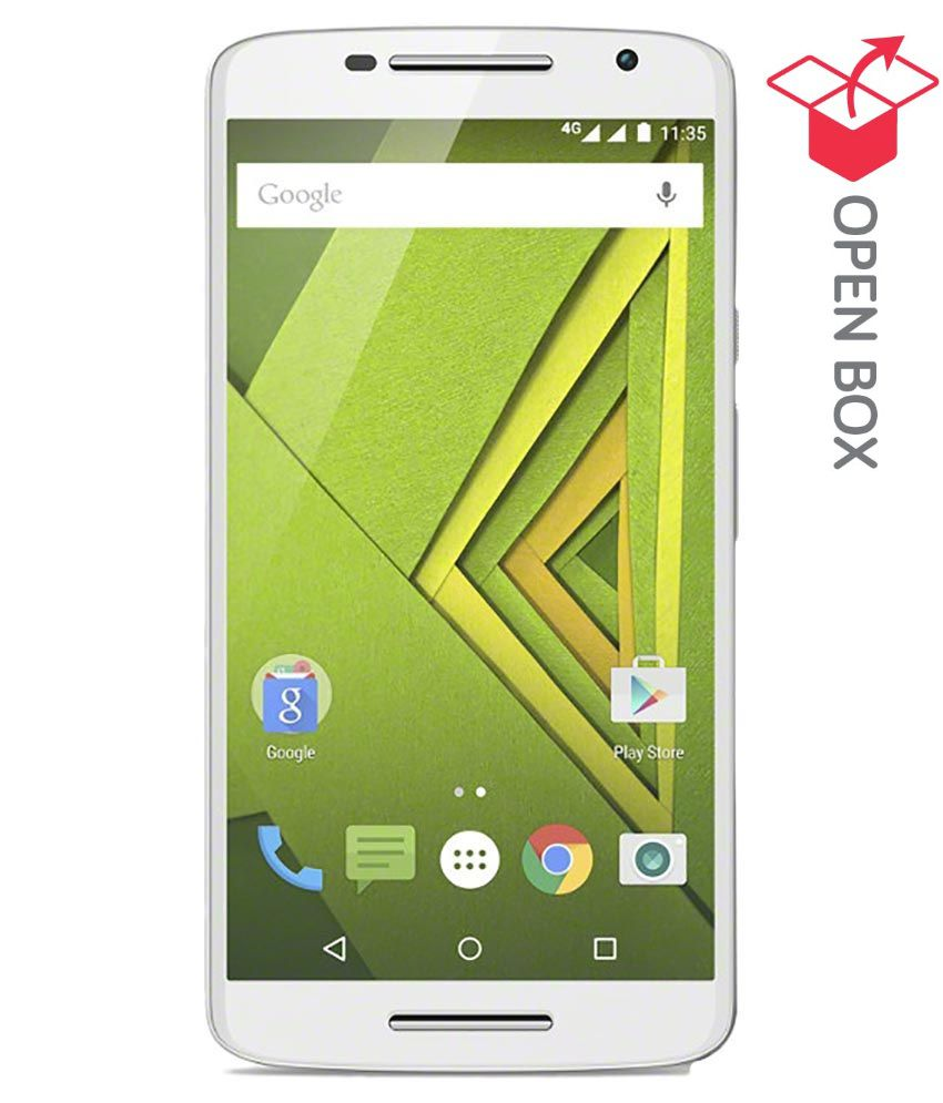 REFURBISHED Motorola Moto X Play 16 GB White available at SnapDeal for Rs.18499