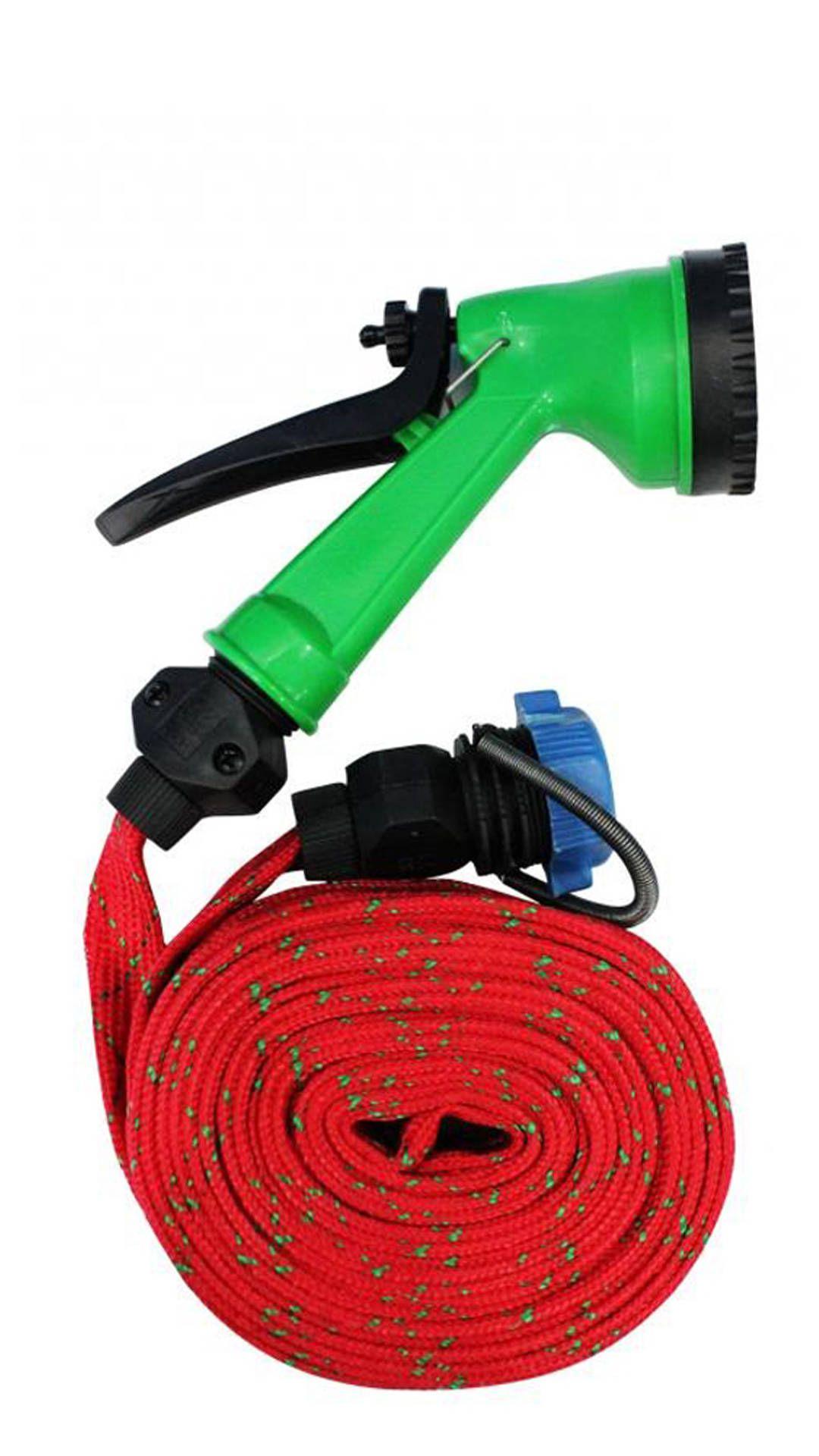 car washing pipe with pressure water spray jet gun 10 meter hose