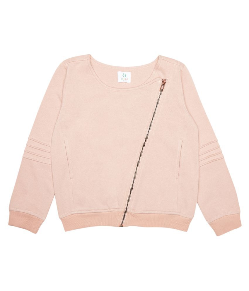 Organic Peach Cotton Jacket