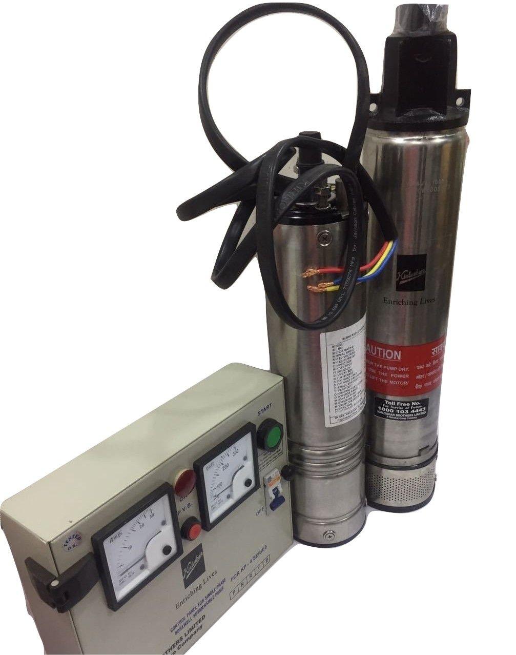 Kirloskar Submersible Pump 1hp With Control Panel Single