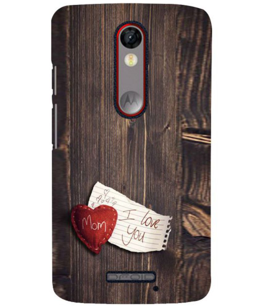 Moto X Force 3D Back Covers By Fuson