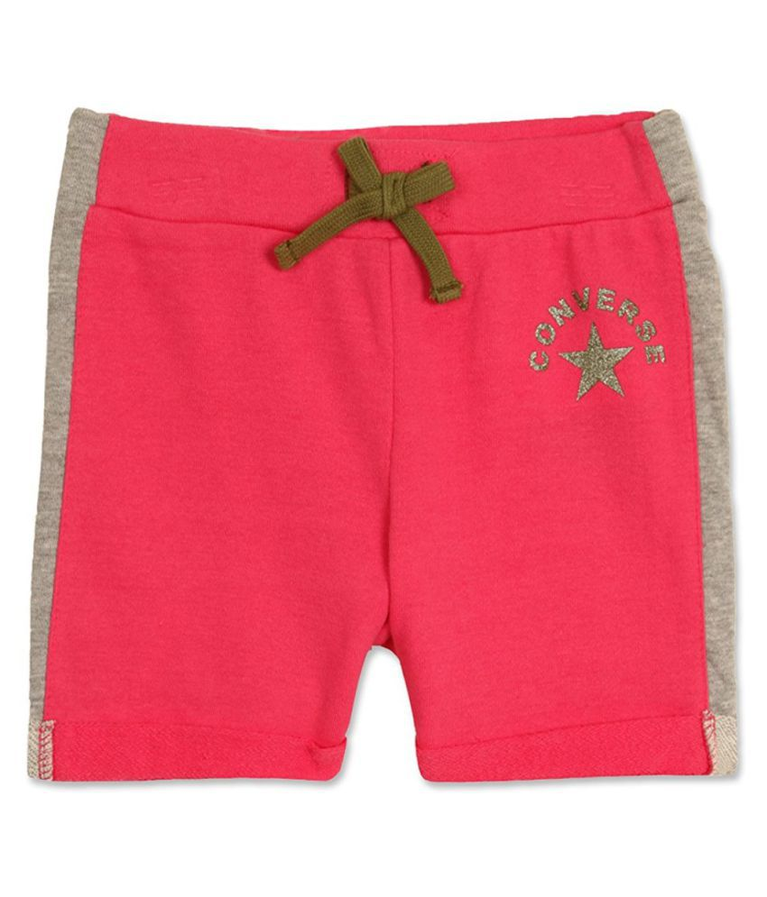Converse Deep Pink Cotton Short