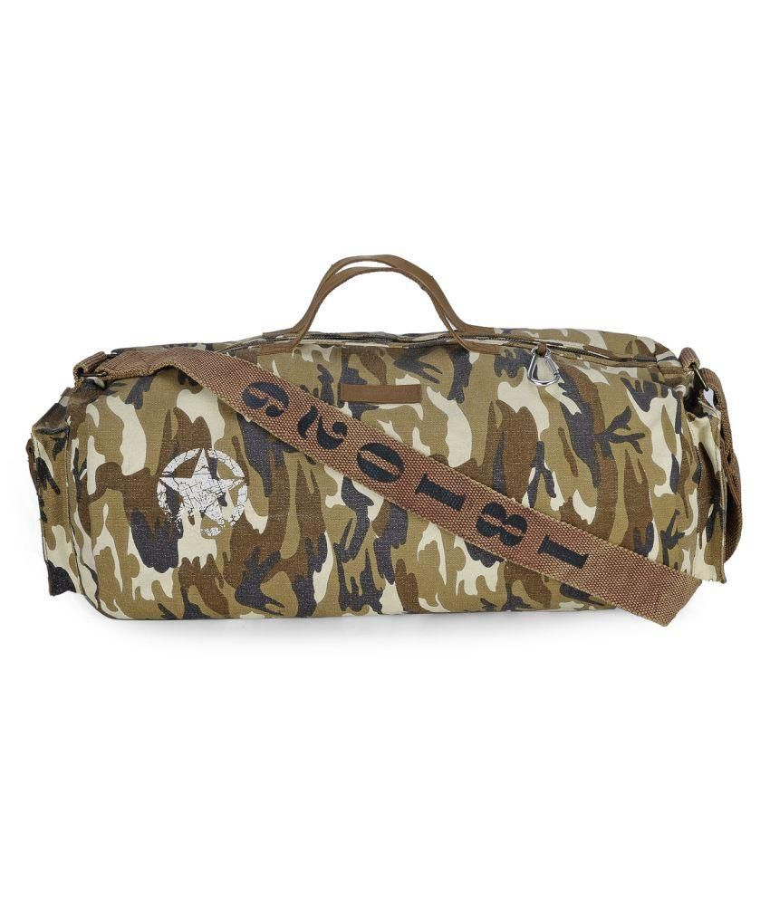 The House Of Tara Multicolor Large Canvas Gym Bag