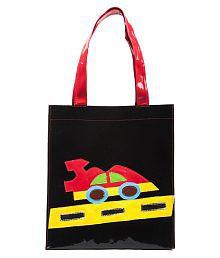 Lill Pumpkins Black PU Bag