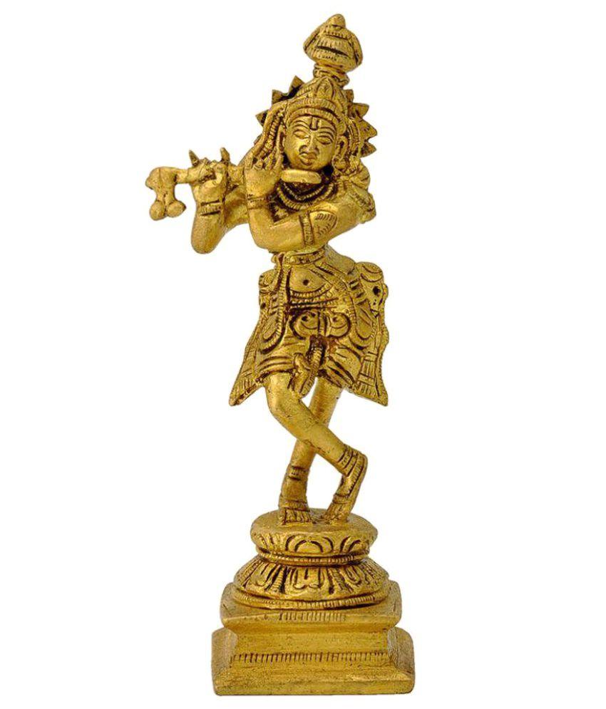 Redbag Krishna Brass Idol