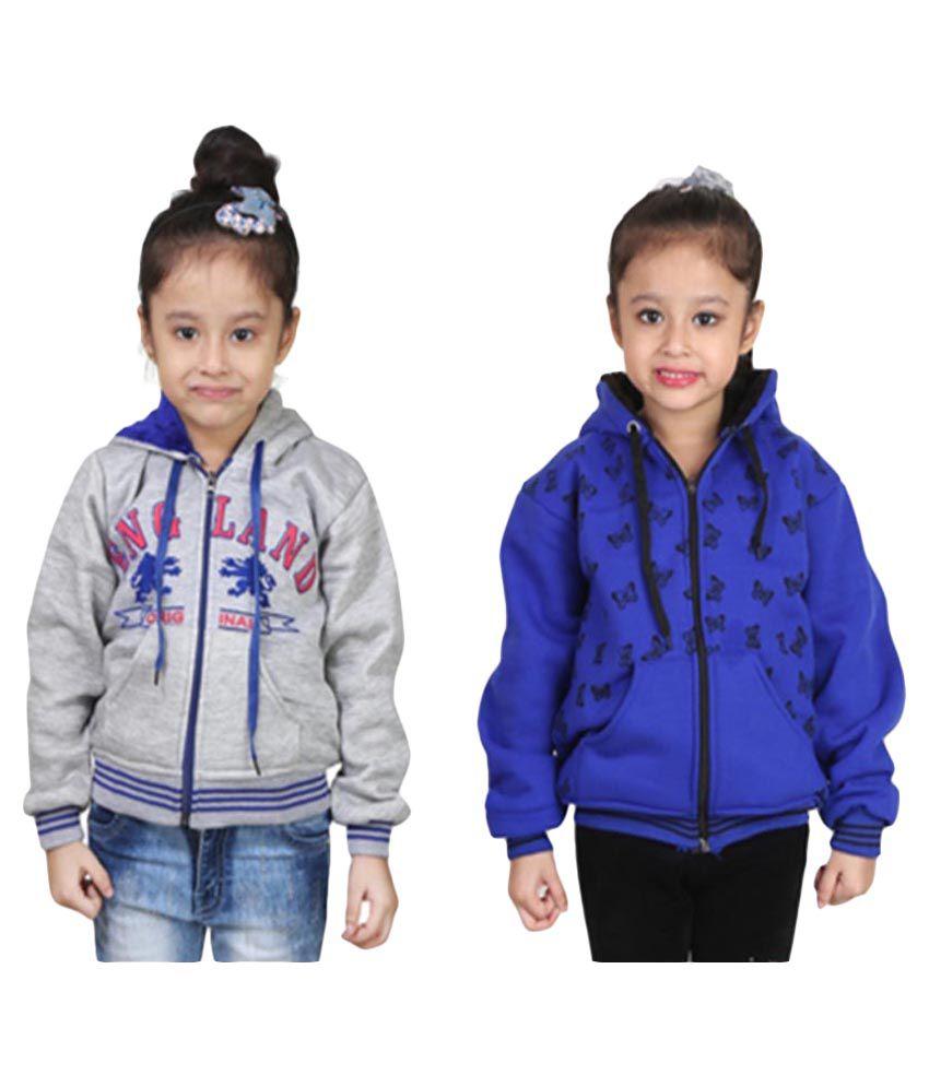 Qeboo Multicolor Sweatshirt - Pack of 2
