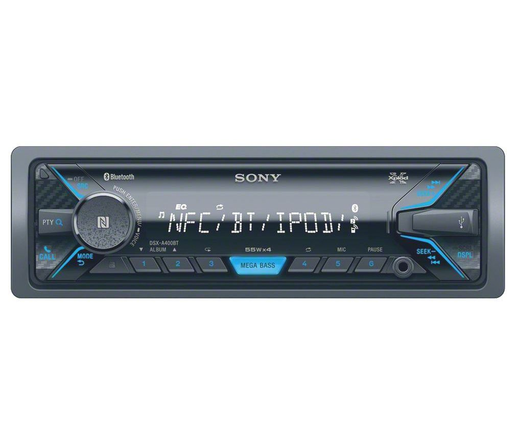sony dsx a400bt lcd display digital media player with bluetooth black buy sony dsx a400bt lcd. Black Bedroom Furniture Sets. Home Design Ideas