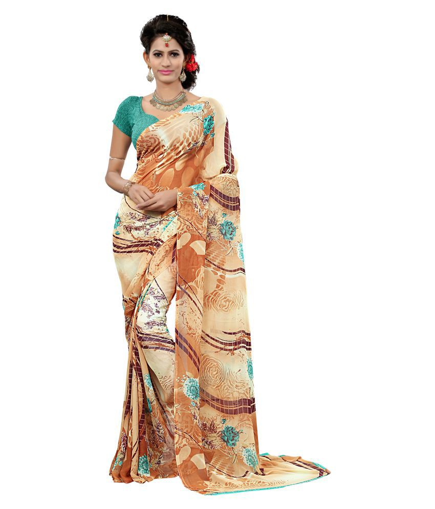 Rinkey Sarees Multicoloured Bhagalpuri Silk Saree