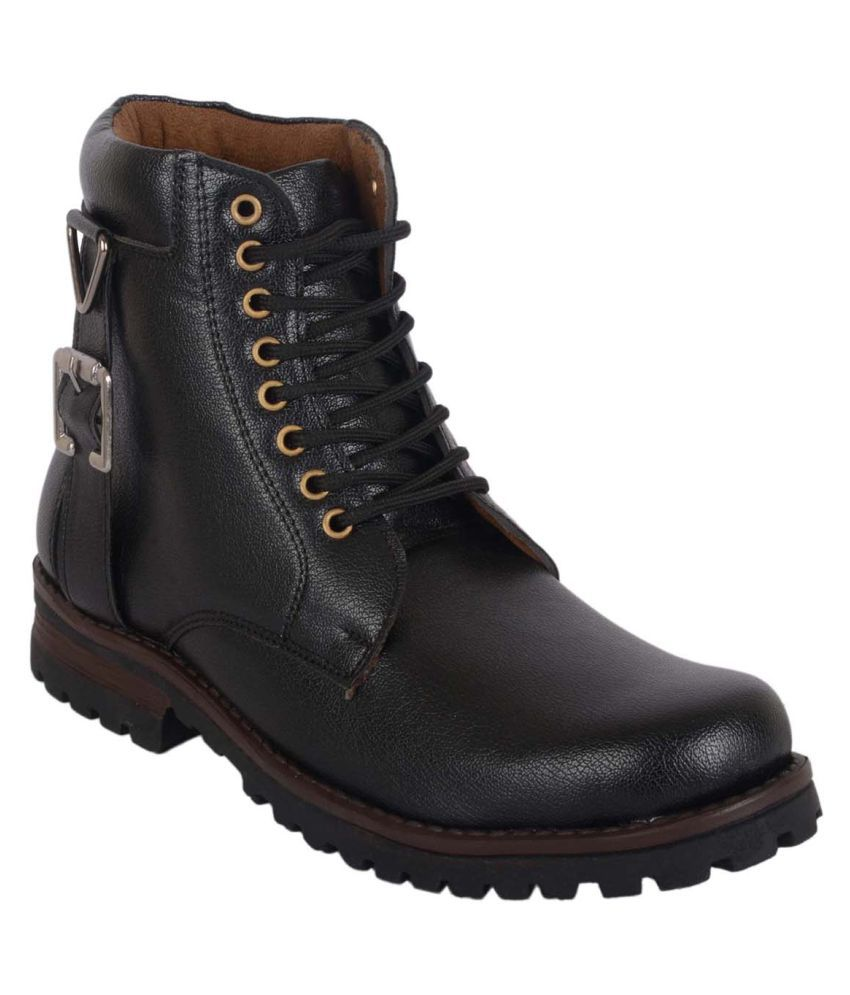 Austrich Black Formal Boot