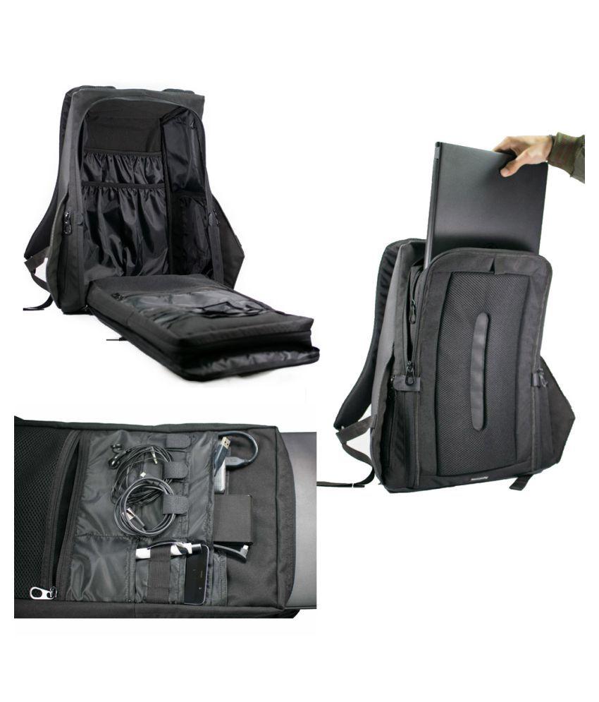 e72a47c672 Gods Black Backpack - Buy Gods Black Backpack Online at Low Price ...