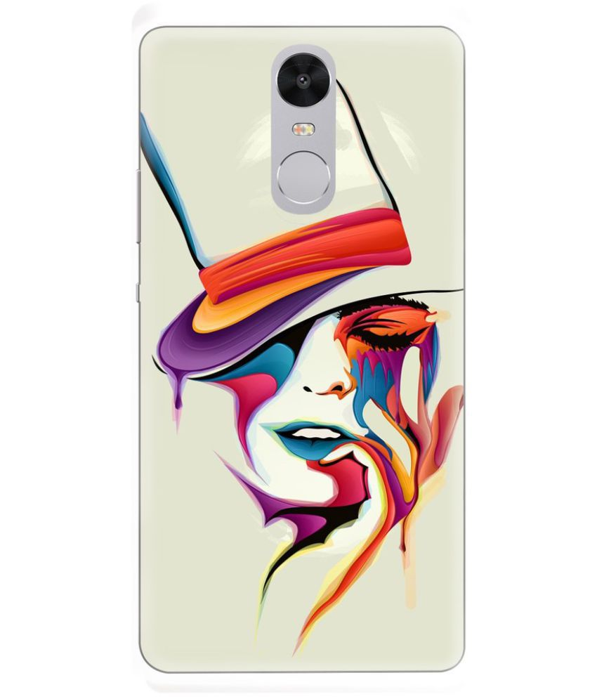 Xiaomi Redmi Note 4 Printed Cover By CareFone