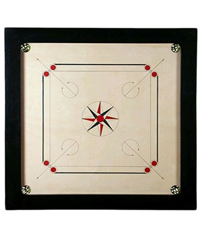 Meerut Sports Gallery Black Carrom