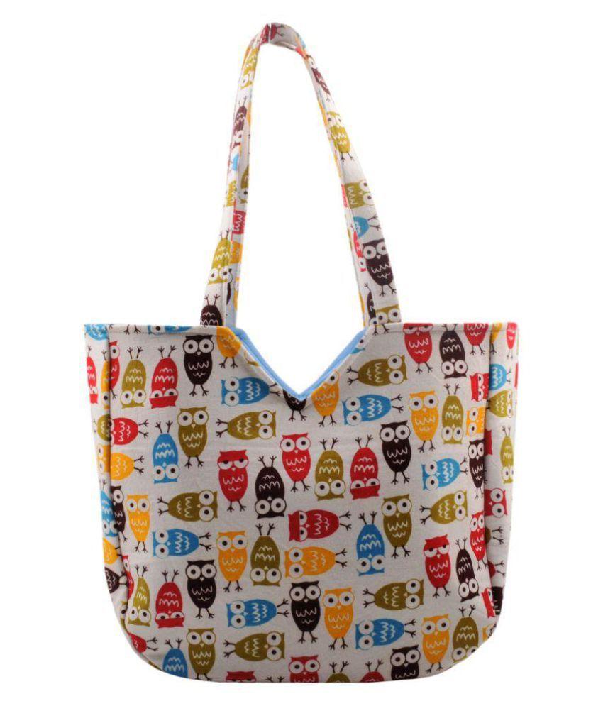 Hve Multi Canvas Shoulder Bag
