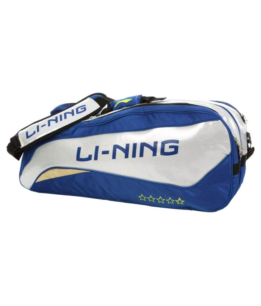 Li-Ning Blue Backpack Badminton Kit Bag