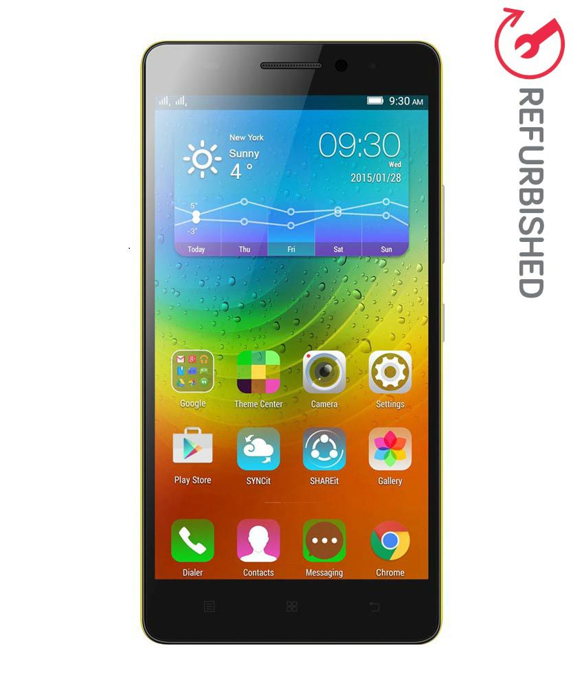 REFURBISHED Lenovo K3 Note  Yellow, 16 GB  available at SnapDeal for Rs.8669