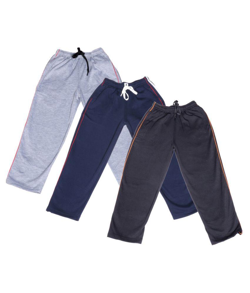 IndiWeaves Multi Cotton Pyjamas (Pack of 3)