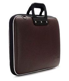La Corsa Brown Leather Briefcase