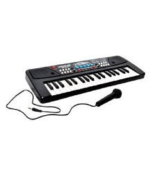 Taaza Garam Electronic 37 Key Piano Keybord Toy With Dc Power Option And Recording With Mic-gift Toy