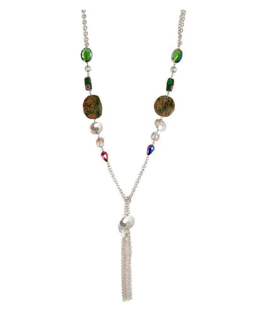 My DT Lifestyle Multi Color Metal Necklace