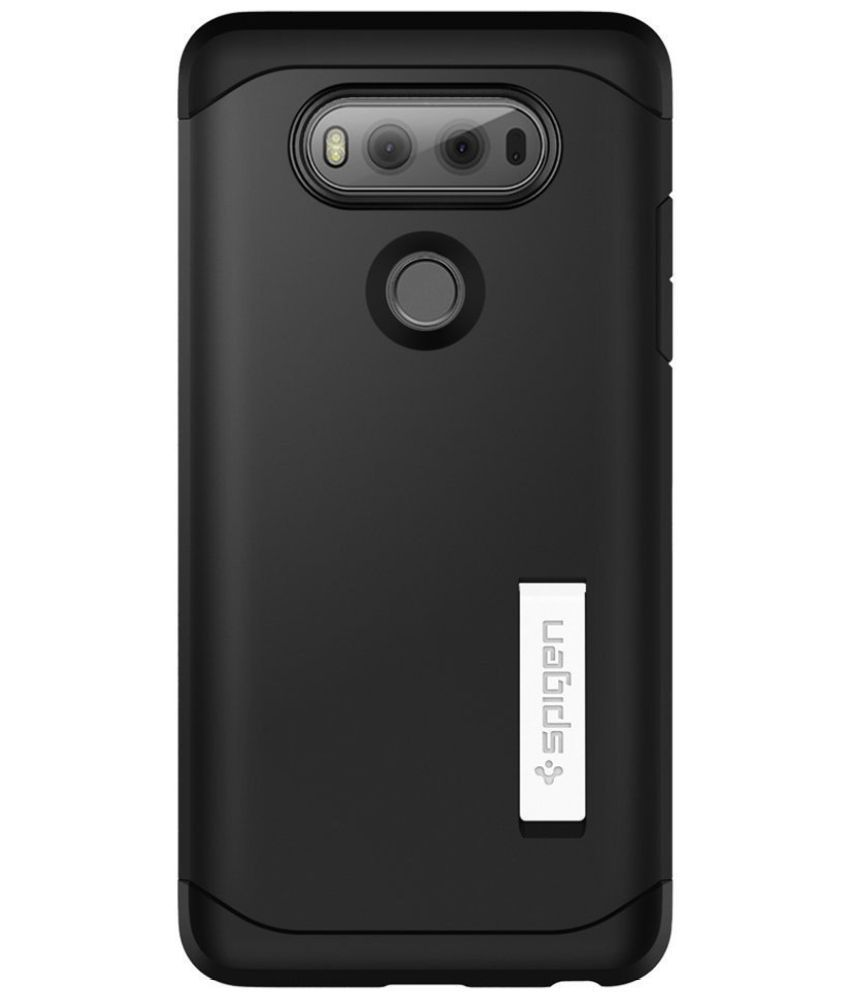 new arrival 8d670 492a4 LG V20 Cover by Spigen - Black - Plain Back Covers Online at Low ...