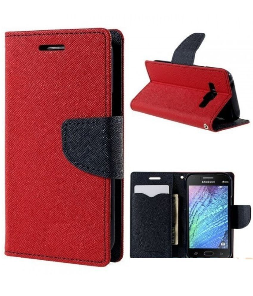 Xiaomi Mi4 Flip Cover by Trap - Red