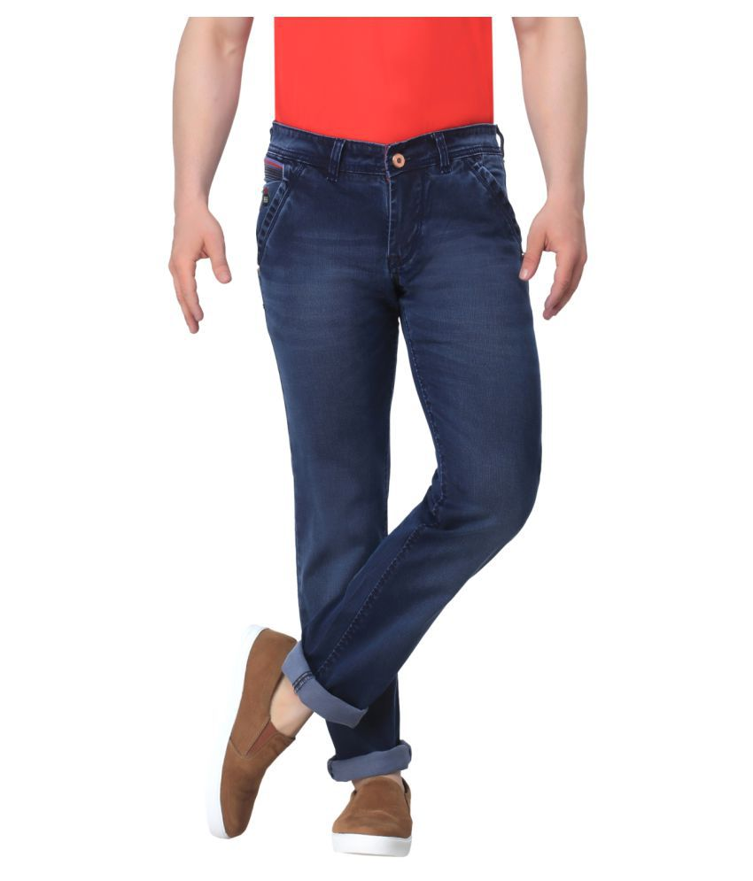 Gabon Navy Blue Slim Jeans
