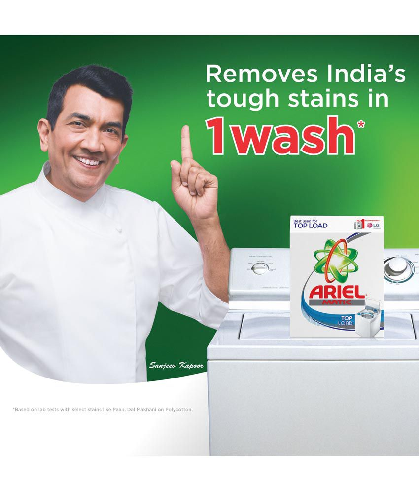 Ariel Matic Top Load Washing Detergent Powder 1 kg