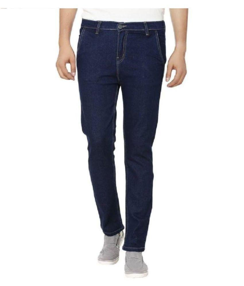 Ibs Blue Relaxed Jeans