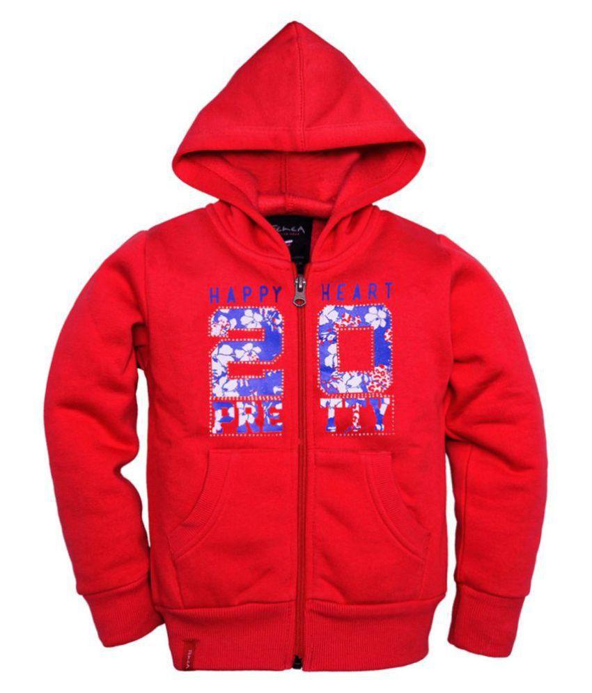 Femea Red Sweatshirt
