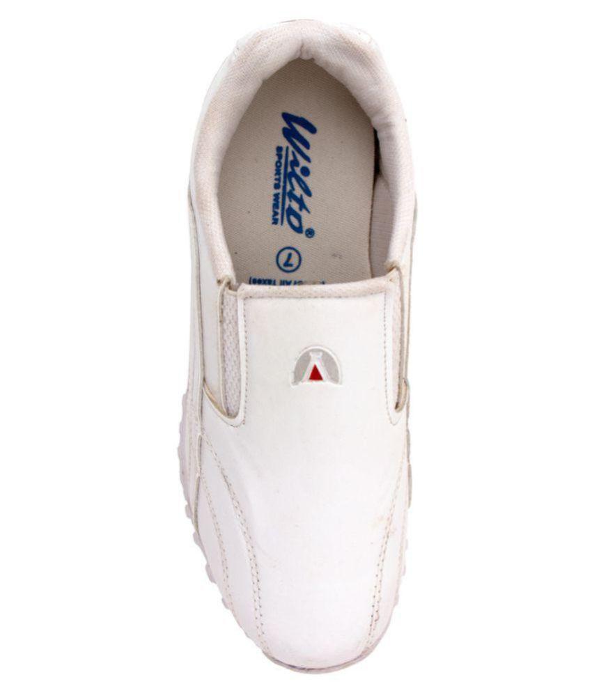 Asian Desire White Running Shoes - Buy