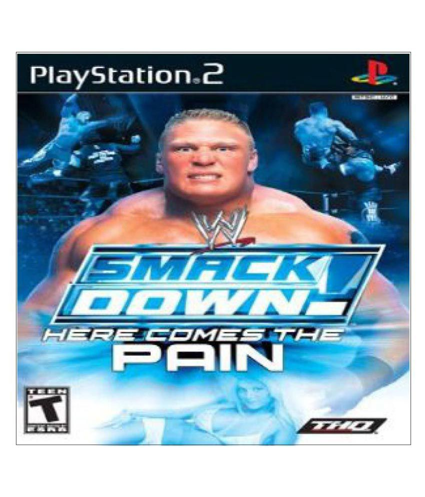Smack down here comes the pain ps2