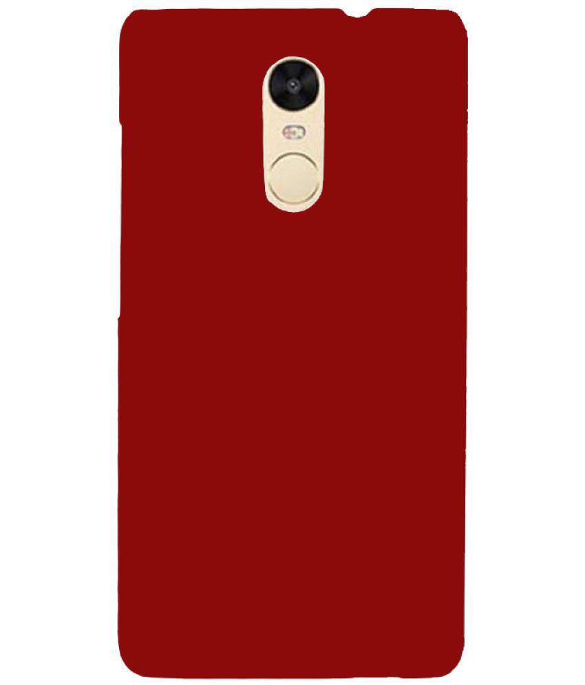 online retailer f87b3 2080e Xiaomi Redmi Note 4 Cover by Cover Wala - Red