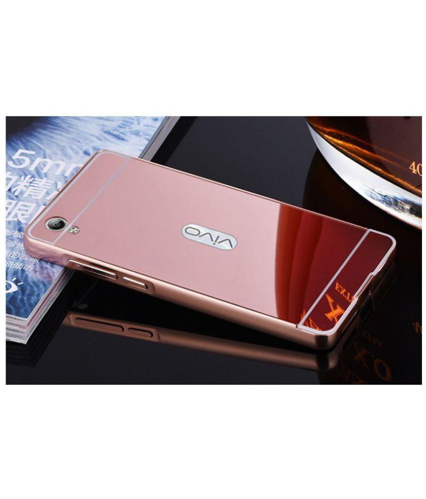 newest 19eb2 1248b Vivo Y51L Cover by NKARTA - Rose Gold