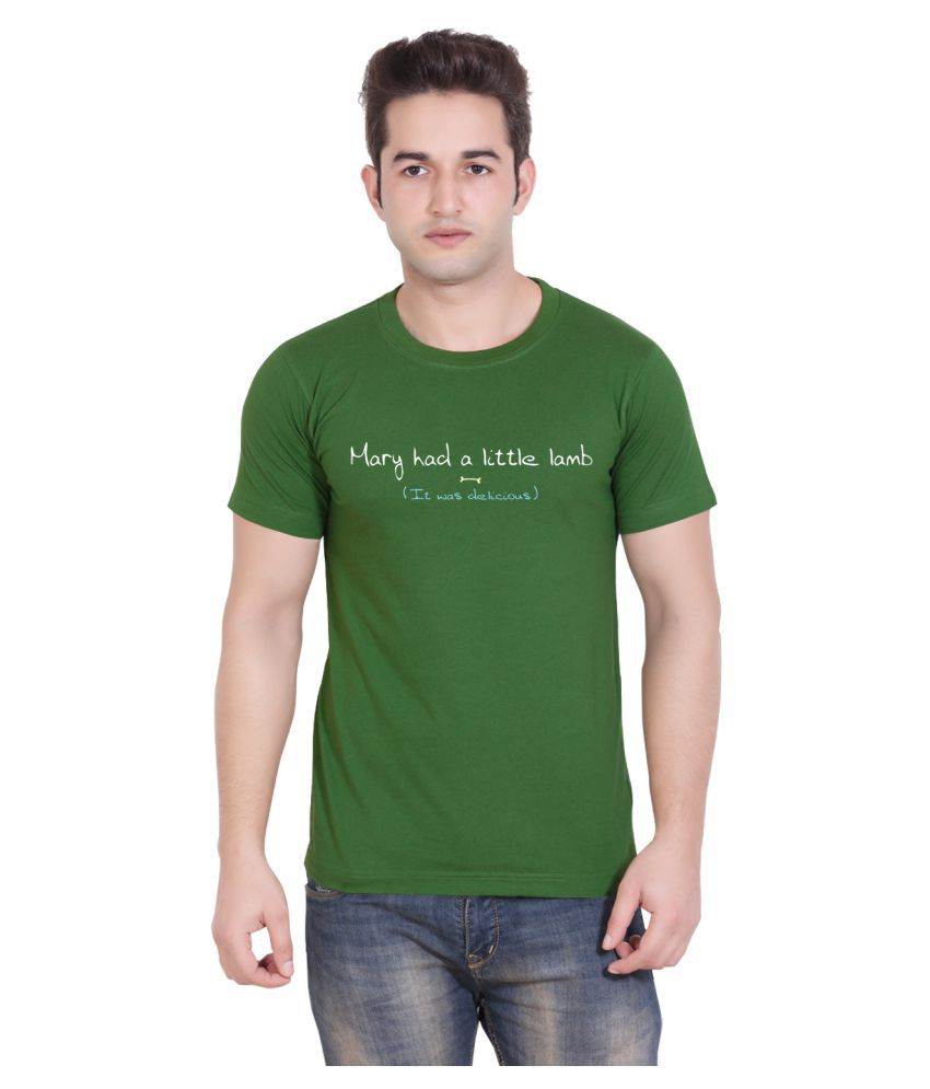 Tantraa Green Round T-Shirt