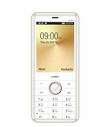 Lava White Gold Spark i7 128 MB