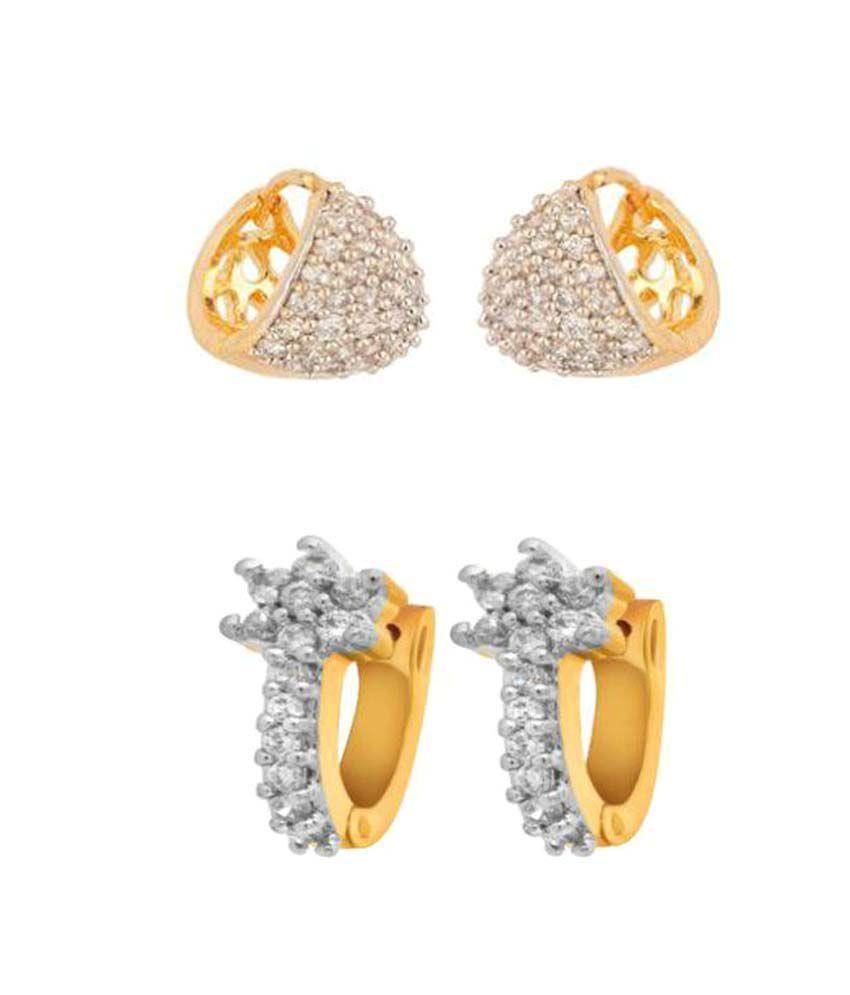 Penny Jewels Golden Huggies - Pairs of 2
