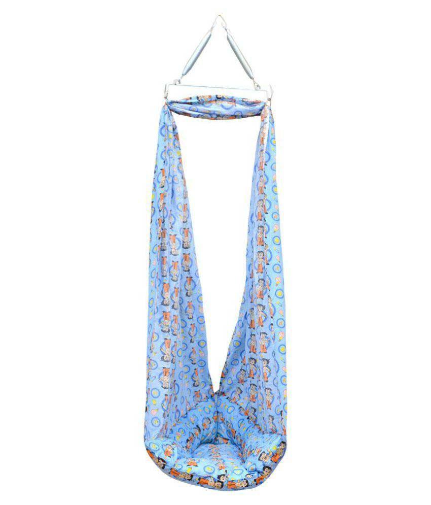Chhota Bheem Blue Cotton Sleeping Bags ( 12 cm × 14 cm)