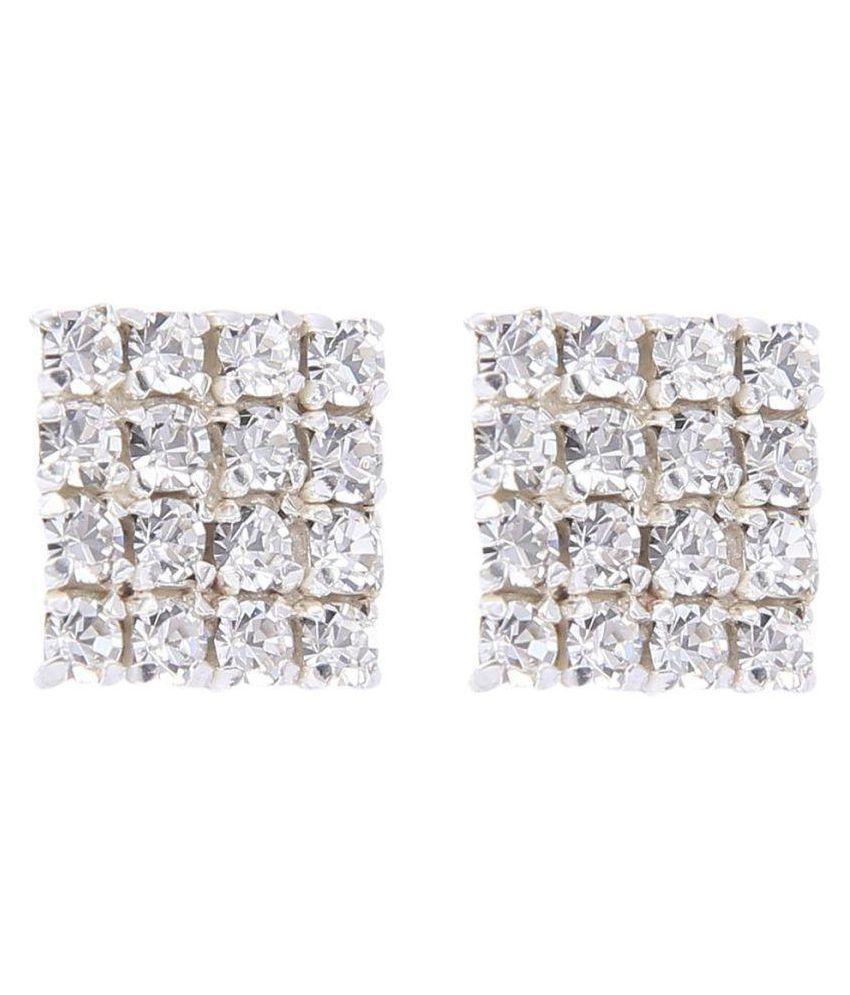 Carrydreams Honey Singh Inspired Cubic Zirconia Earrings