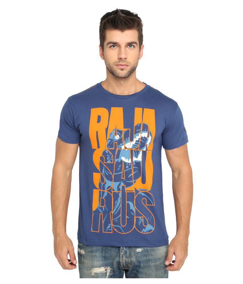 Imagica Navy Round T-Shirt