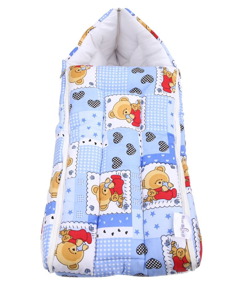 Momtobe Multi-Colour Cotton Sleeping Bags ( 50 cm × 29 cm)