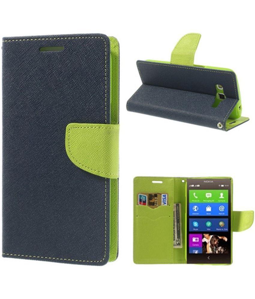 Nokia X Flip Cover by G-MOS - Blue