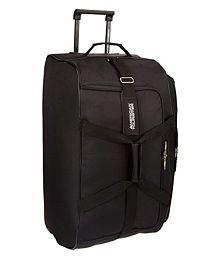 American Tourister Aegis Core Fabric Black Gym Bag (Aegis Core_8901836130607)