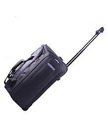 American Tourister Aegis Plus Fabric Brown Gym Bag (Aegis Plus_8901836129410)