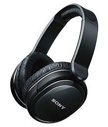 Sony MDR-HW300K On-Ear Home Wireless Hi-Fi Headphones (Black)